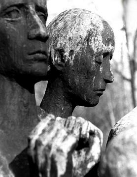 Dora Monument, Sculpture by Jurgen von Woyski, 1964, Located near Dora's Crematorium. Courtesy of Al Gilens.